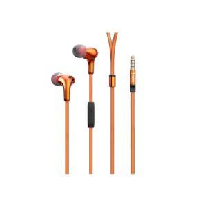 Наушники Hoco M30 Glaring Universal Earphones With Mic (Orange)