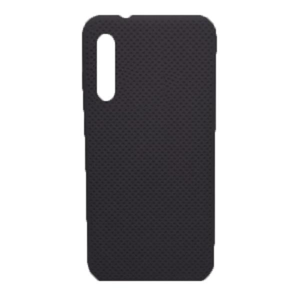 Чехол-накладка с перфорацией (силикон) для Xiaomi MI9 Lite (Черный) 1