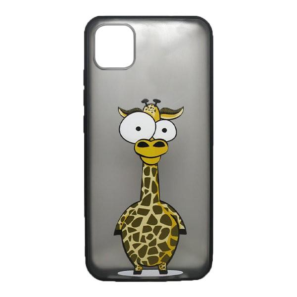 Чехол силиконовый с рисунком для Apple IPhone 11 Pro (giraffe) 1