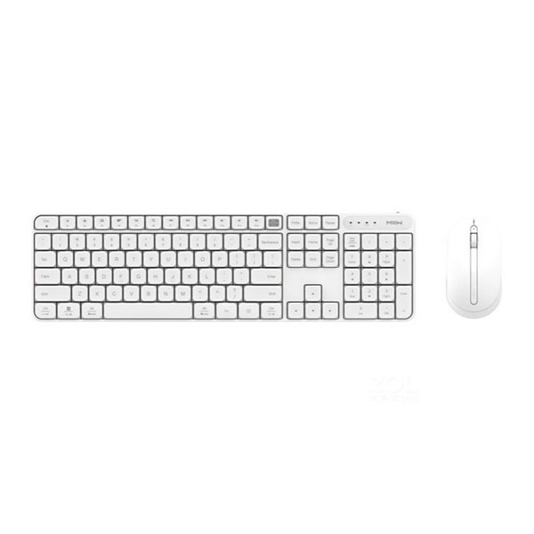 Беспроводная клавиатура с мышкой Xiaomi Bluetooth Dual Mode Keyboard White MWWC01