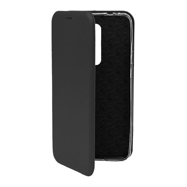 Чехол-книжка с загнутыми краями Xiaomi RedMi 8 (Черный)