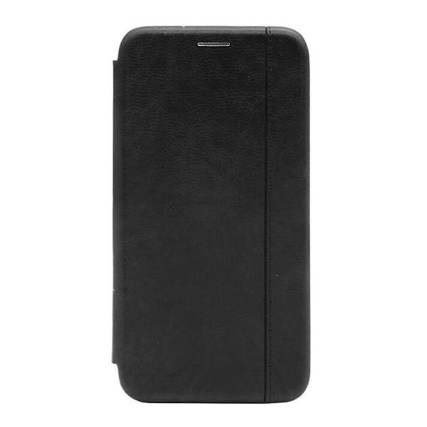 Чехол-книжка с загнутыми краями строчка Xiaomi RedMi 8A (Черный) 1