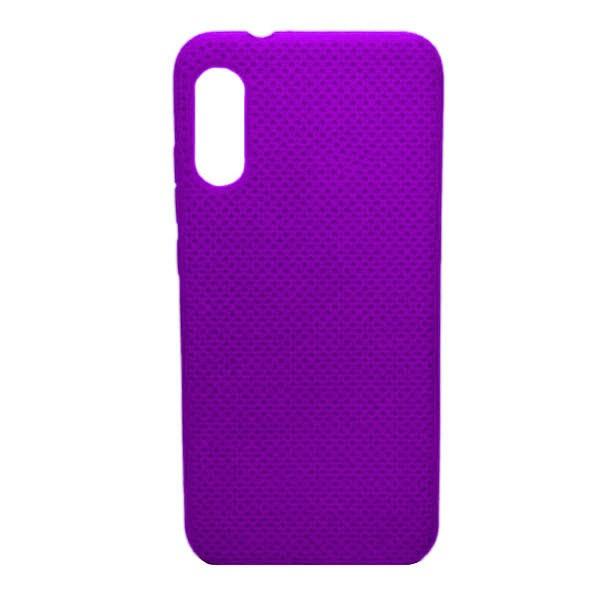 Чехол-накладка с перфорацией (силикон) для Xiaomi Mi 9 (2019) (Фиолетовый) 1