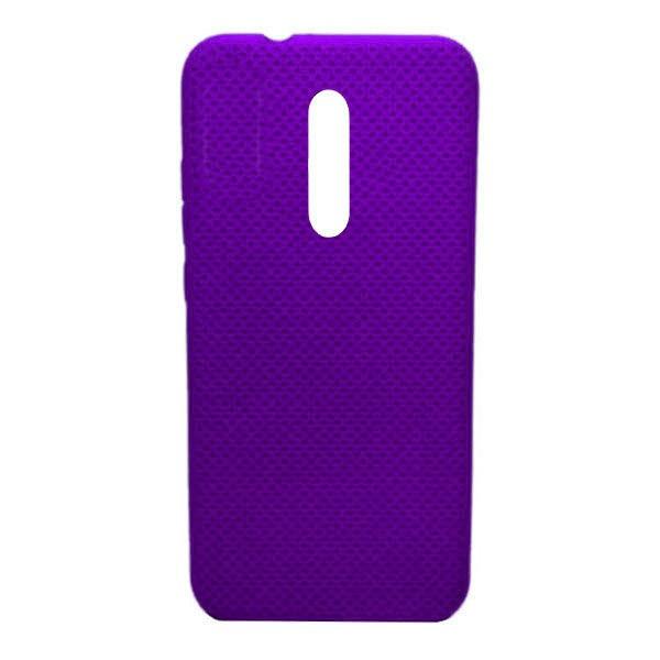 Чехол-накладка с перфорацией (силикон) для Xiaomi Mi 9T/K20 pro (2019) (Фиолетовый) 1
