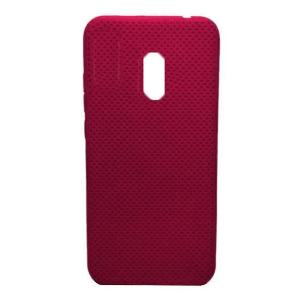 Чехол-накладка с перфорацией (силикон) для Xiaomi Redmi 8 (Красный)