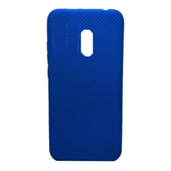 Чехол-накладка с перфорацией (силикон) для Xiaomi Redmi 8 (Темно-синий) 1