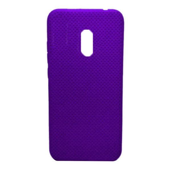 Чехол-накладка с перфорацией (силикон) для Xiaomi Redmi 8 (Фиолетовый) 1