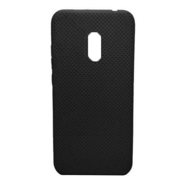 Чехол-накладка с перфорацией (силикон) для Xiaomi Redmi 8 (Черный) 1