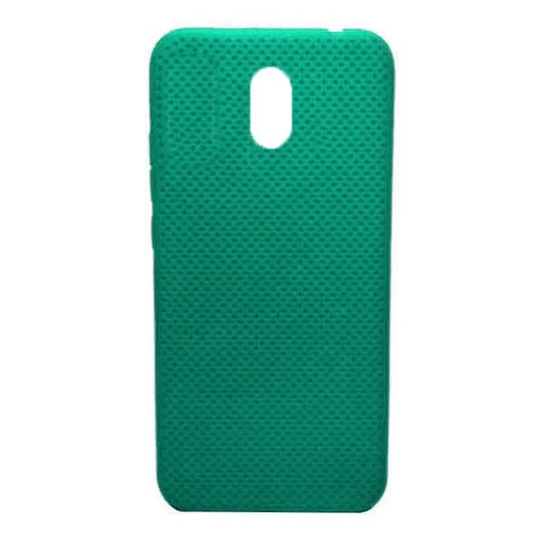 Чехол-накладка с перфорацией (силикон) для Xiaomi Redmi 8A (Мятный) 1