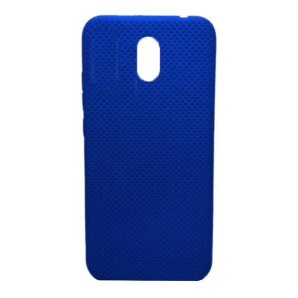 Чехол-накладка с перфорацией (силикон) для Xiaomi Redmi 8A (Темно-синий) 1