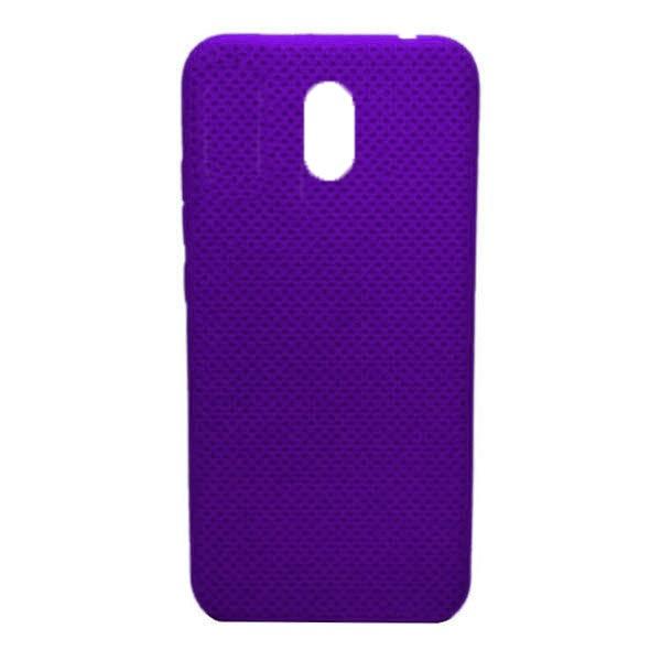 Чехол-накладка с перфорацией (силикон) для Xiaomi Redmi 8A (Фиолетовый) 1