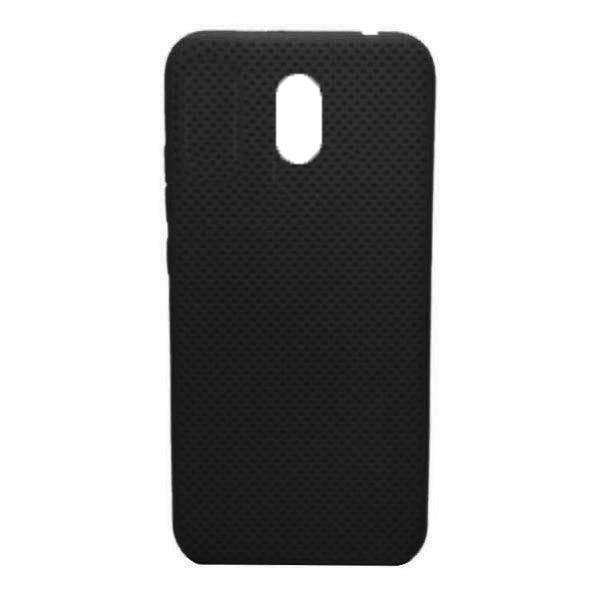 Чехол-накладка с перфорацией (силикон) для Xiaomi Redmi 8A (Черный)