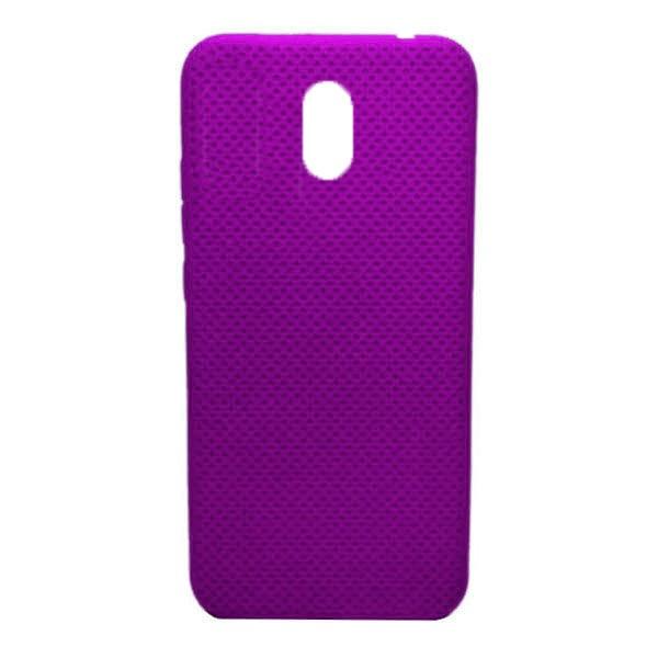 Чехол-накладка с перфорацией (силикон) для Xiaomi Redmi 8A (Ярко-розовый) 1