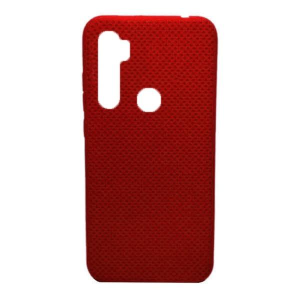 Чехол-накладка с перфорацией (силикон) для Xiaomi Redmi Note 8 (Красный)