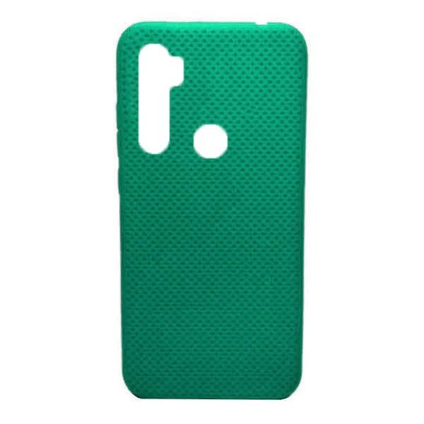 Чехол-накладка с перфорацией (силикон) для Xiaomi Redmi Note 8 (Мятный) 1