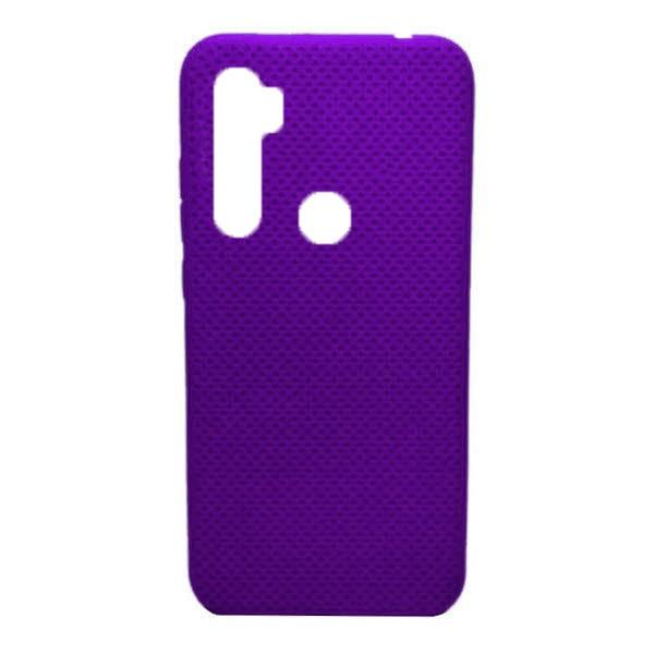 Чехол-накладка с перфорацией (силикон) для Xiaomi Redmi Note 8 (Фиолетовый) 1