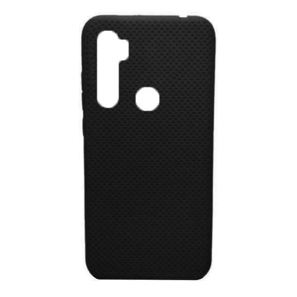 Чехол-накладка с перфорацией (силикон) для Xiaomi Redmi Note 8 (Черный) 1