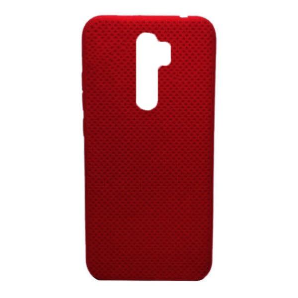 Чехол-накладка с перфорацией (силикон) для Xiaomi Redmi Note 8 Pro (Красный)