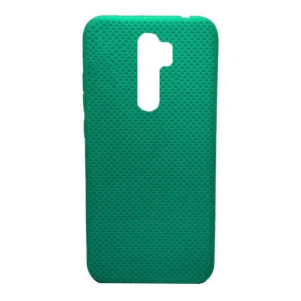 Чехол-накладка с перфорацией (силикон) для Xiaomi Redmi Note 8 Pro (Мятный) 1