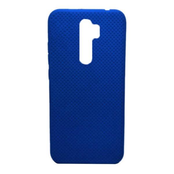 Чехол-накладка с перфорацией (силикон) для Xiaomi Redmi Note 8 Pro (Темно-синий) 1