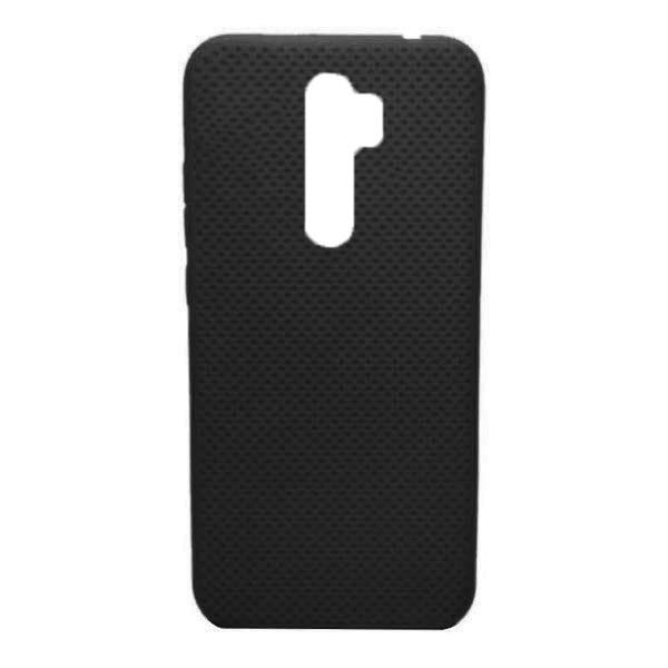 Чехол-накладка с перфорацией (силикон) для Xiaomi Redmi Note 8 Pro (Черный) 1