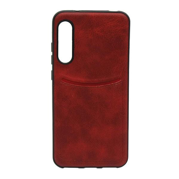 Чехол-накладка ILEVEL /визитница/ для Xiaomi Mi9 Lite (Красный) 1