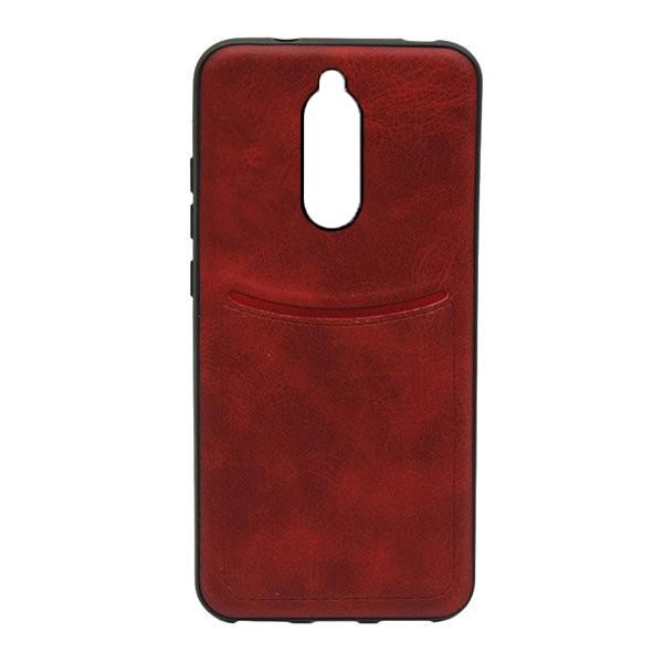 Чехол-накладка ILEVEL /визитница/ для Xiaomi Redmi 8A (Красный) 1