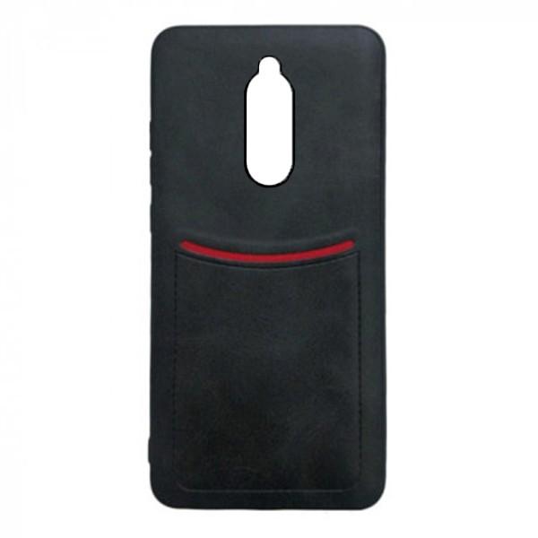 Чехол-накладка ILEVEL /визитница/ для Xiaomi Redmi 8A (Черный) 1
