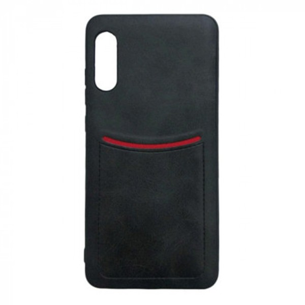 Чехол-накладка ILEVEL /визитница/ для Xiaomi Mi9 Lite (Черный)