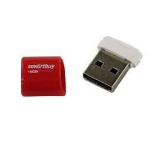 Флеш-накопитель Smart Buy 16GB Lara series (Red)