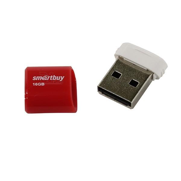 Флеш-накопитель Smart Buy 16GB Lara series (Red) 1