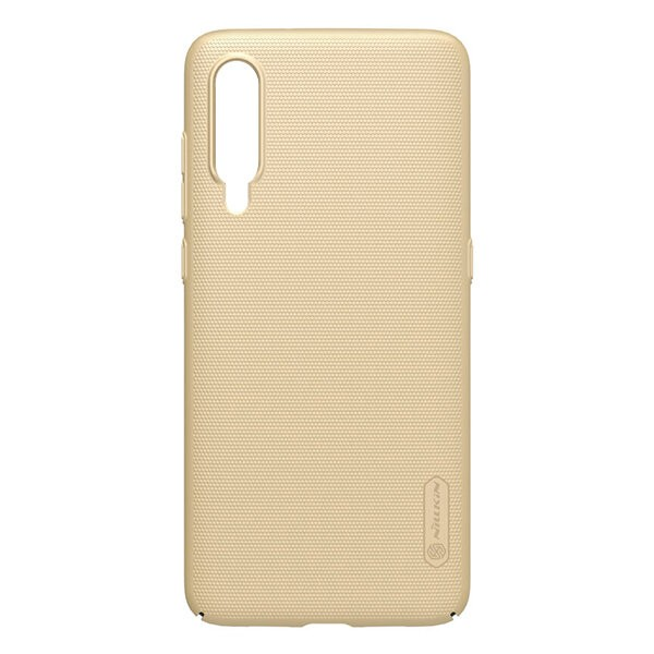 Чехол бампер NILLKIN Super Frosted Shield для Xiaomi Mi9 (Gold) 1