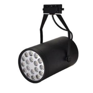 Трековый светодиодный светильник LED Spotlight 18W Brown-Metalic