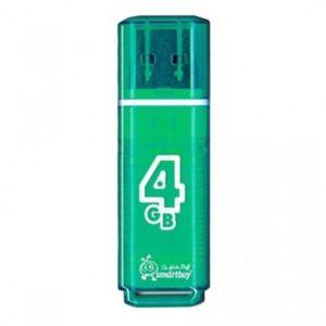 Флеш-накопитель Smart Buy 4GB Glossy (Green)
