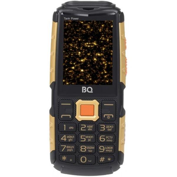 Мобильный телефон BQ BQM-2430 Tank Power (Black+Gold) 1