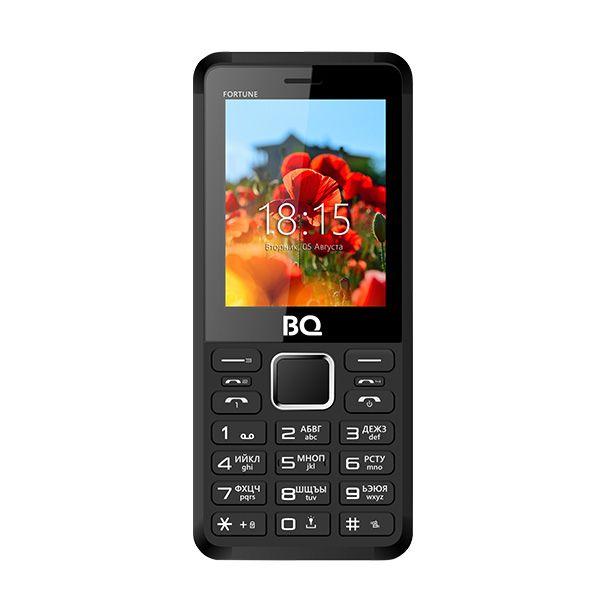 Мобильный телефон BQ BQM-2436 Fortune P (Black+Red)