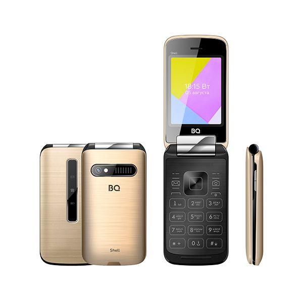 Мобильный телефон BQ BQM-2816 Shell (GOLD)