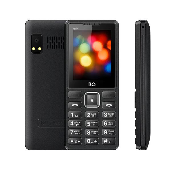 Мобильный телефон BQ BQM-2444 Flash (Black)