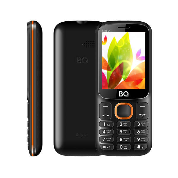 Мобильный телефон BQ BQM-1846 One Power (black/orange) 1