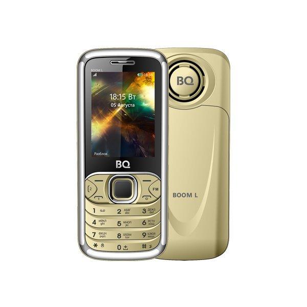 Мобильный телефон BQ BQM-2427 BOOM L (gold) 1