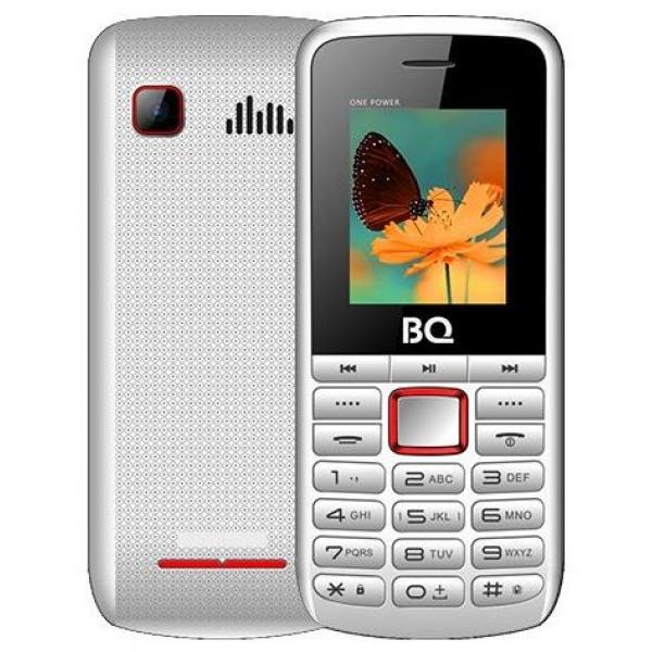 Мобильный телефон BQ BQM-1846 One Power (white/red)