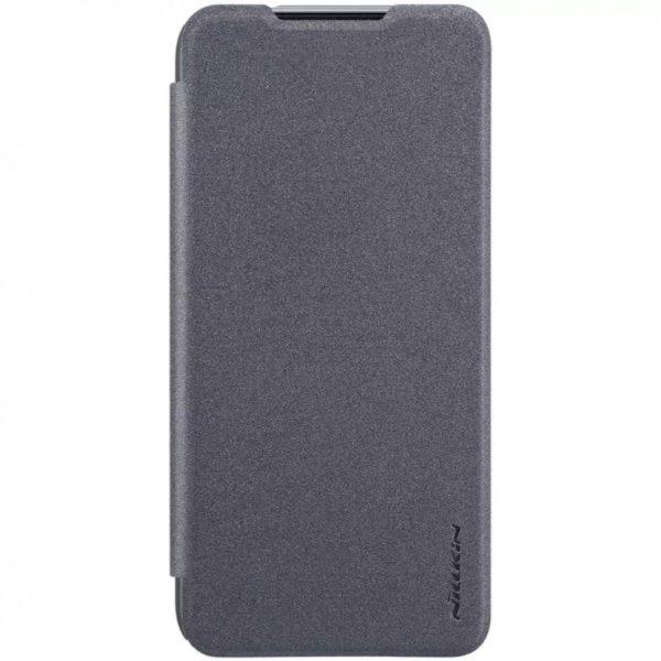 Чехол книжка NILLKIN Sparkle leather case для Xiaomi Redmi 7 (Black) 1