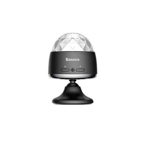 Беспроводной световой музыкальный шар Baseus Car Crystal Magic Ball Light ACMQD-01 Black 1