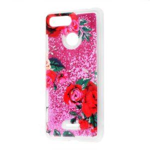 Чехол бампер Rich Pattern для Xiaomi Redmi 6 (Rose)