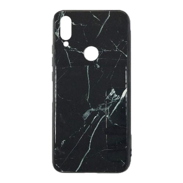 Чехол бампер Glass Case для Xiaomi Redmi 7 (Black) 1