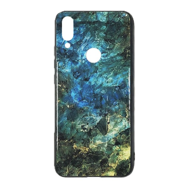 Чехол бампер Glass Case для Xiaomi Redmi 7 (Green)