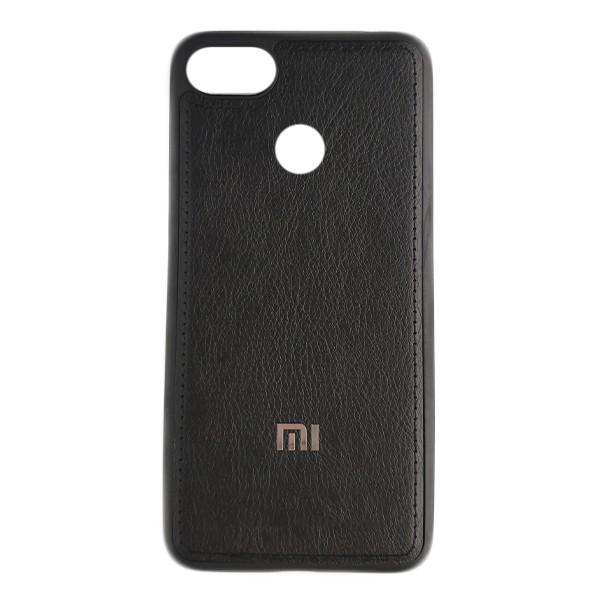 Чехол накладка Life Leather Case для Xiaomi Mi8 Lite (Black)