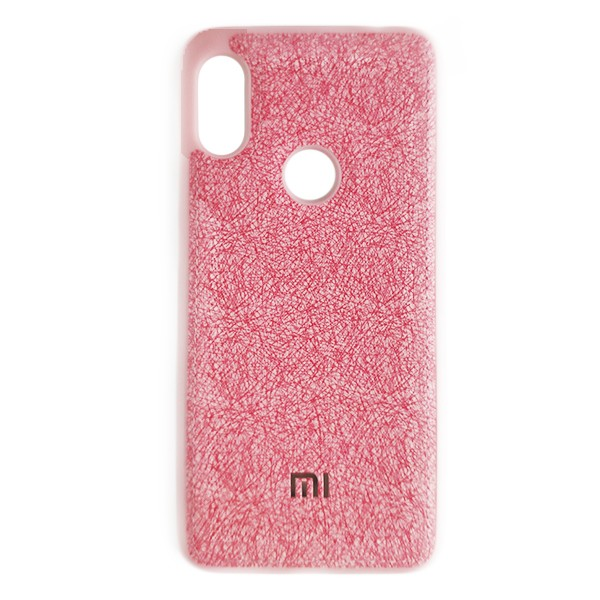 Чехол накладка Life Cloth Case для Xiaomi Redmi 7 (Pink) 1