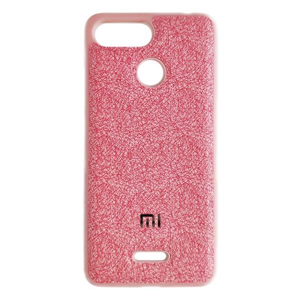 Чехол накладка Life Cloth Case для Xiaomi Redmi 6 (Pink) 1
