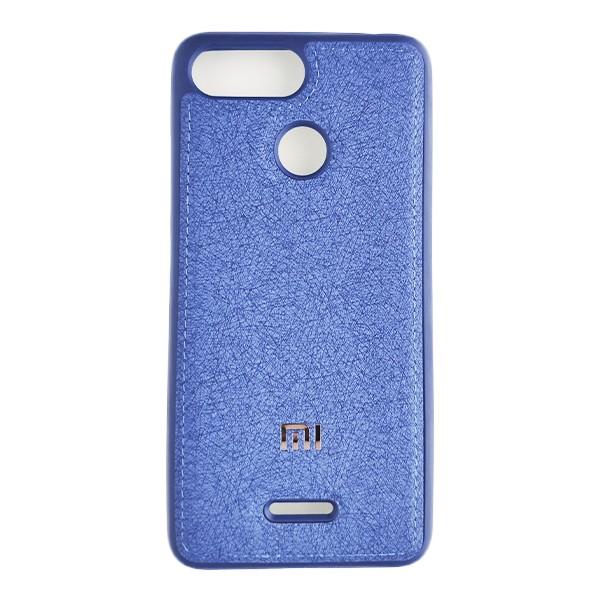 Чехол накладка Life Cloth Case для Xiaomi Redmi 6 (Blue) 1